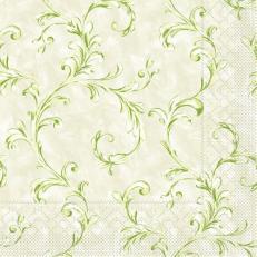Tissue Serviette MANOLA GRÜN 40 x 40 cm; 1200 Stück im Karton