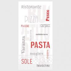 Tissue Serviette PASTA 40 x 40 cm; 1500 Stück im Karton