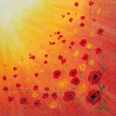 Tissue-Serviette SOMMERWIESE 40 x 40 cm