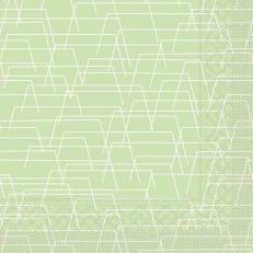 Tissue-Serviette TARIK HELLGRÜN 40 x 40 cm