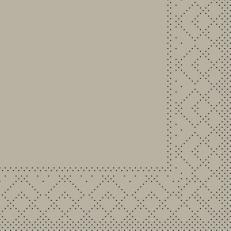 Tissue-Serviette BEIGE-GREY 20 x 20 cm