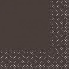 Tissue-Serviette BRAUN 20 x 20 cm