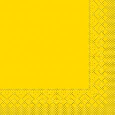 Tissue-Serviette GELB 40 x 40 cm