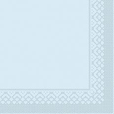 Tissue-Serviette HELLBLAU 40 x 40 cm