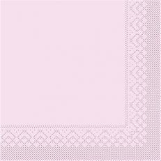 Tissue-Serviette ROSA 40 x 40 cm