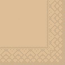 Tissue-Serviette SAND 20 x 20 cm