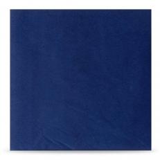 Zelltuch-Serviette BLAU 40x40 cm