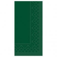 Zelltuch-Serviette 33 x 33 cm; 2-lagig; 1/8 Falz; 1280 Stk. im Karton; Farbe: GRÜN