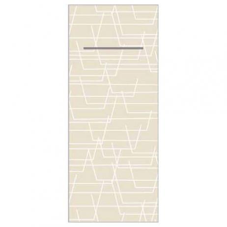 Besteckserviette TARIK HELLGRAU 40 x 33 cm 1/8-Falz