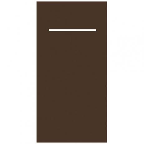 Besteckserviette aus Linclass-Light BRAUN 40 x 33 cm