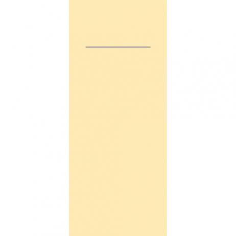 Besteckserviette aus Linclass-Light CREME 40 x 33 cm