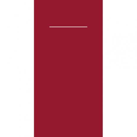 Bestecktasche Linclass-Light BORDEAUX 40 x 40 cm