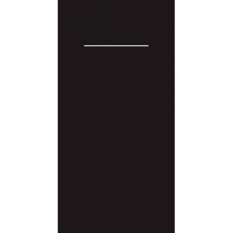 Bestecktasche Linclass-Light SCHWARZ 40 x 40 cm