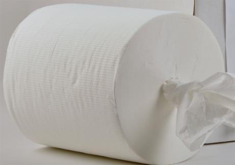 Papier-Handtuch-Rolle Midi 20 cm, hochweiß, 6x270m