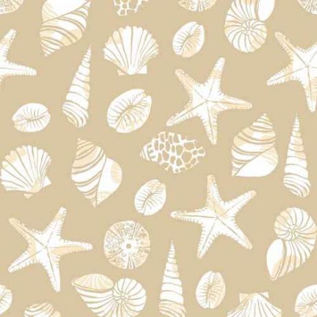 Linclass-Serviette BEACH SAND 40 x 40 cm