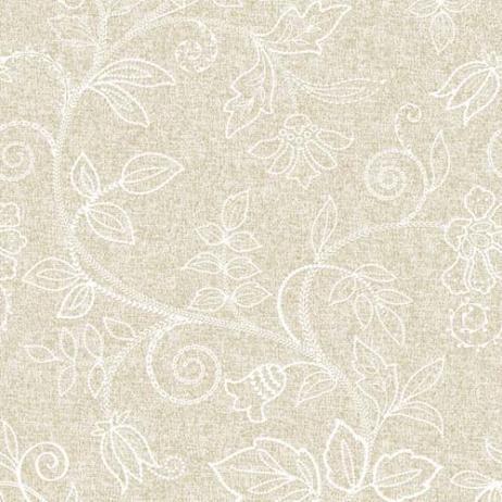 Linclass-Serviette DARLYN HELLBRAUN 40 x 40 cm