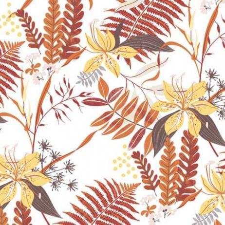 Linclass-Serviette HENNES WEISS 40 x 40 cm