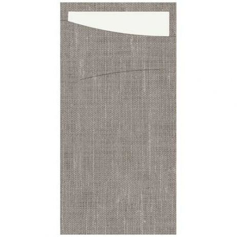 Sacchetto Dunisoft granite grey/weiß