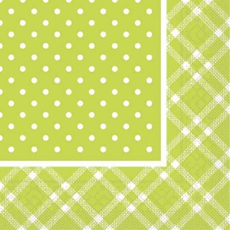 Tissue-Serviette ANTONIA LIME 33x33 cm; 800 Stück im Karton