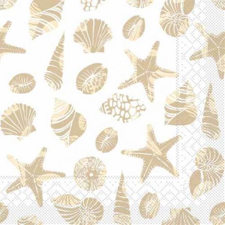 Tissue-Serviette BEACH SAND 40 x 40 cm