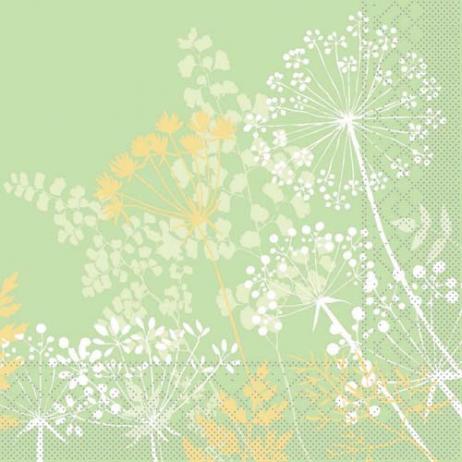 Tissue-Serviette GORDON GRÜN 33 x 33 cm