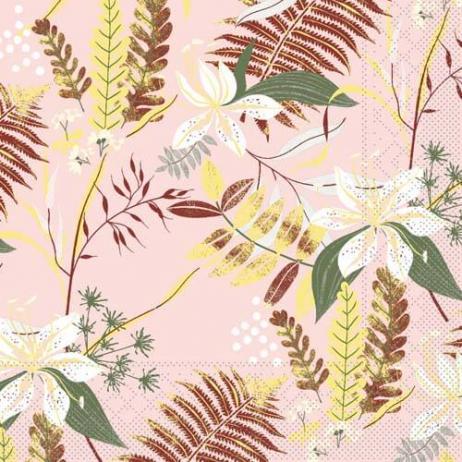 Tissue-Serviette HENNES ROSE 33 x 33 cm