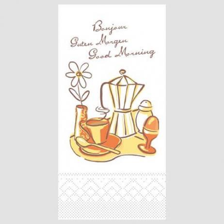 Tissue-Serviette 33x33 cm; 1/8-Falz; 800 Stück im Karton; Typ: NEW DAY